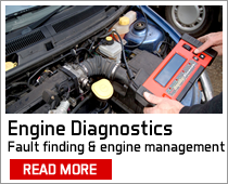 engine management fault finding diagnostics mobile service manchester